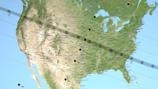 Link to Recent Story entitled: 2017 Total Solar Eclipse Map and Shapefiles