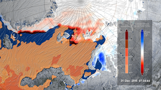 Link to Recent Story entitled: Early 2016 Winter Storm Melts Arctic Sea Ice