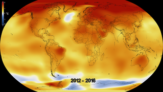 Link to Recent Story entitled: Five-Year Global Temperature Anomalies from 1880 to 2016