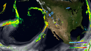 Link to Recent Story entitled: Atmospheric River Slams California