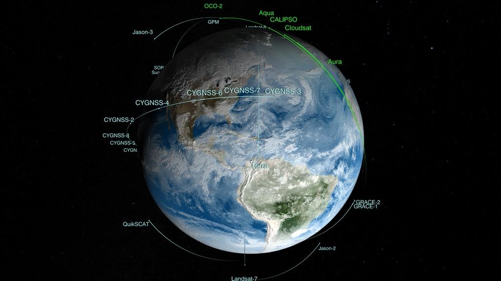 SVS: NASA's Earth Observing Fleet: March 2017