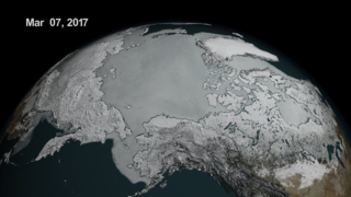 Link to Related Story entitled: Arctic Daily Sea Ice Concentration from Arctic Minimum 2016 to Arctic Maximum 2017