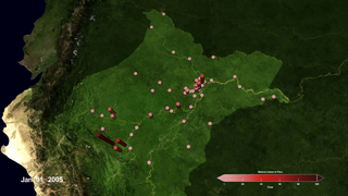 Link to Recent Story entitled: Using Satellite and Ground-based Data to Develop Malaria Risk Maps