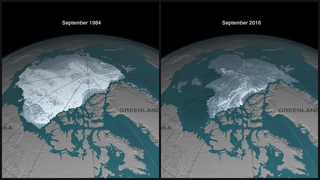 Link to Recent Story entitled: Disappearing Ice