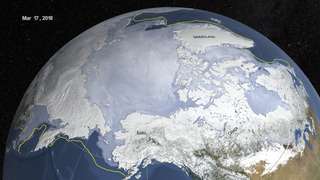Link to Related Story entitled: Sea Ice Maximum extent 2018