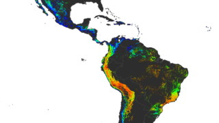 Link to Related Story entitled: Landslide Activity in the Americas for the Cover of Earth's Future