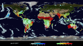 Link to Recent Story entitled: Global Fire WEather Database