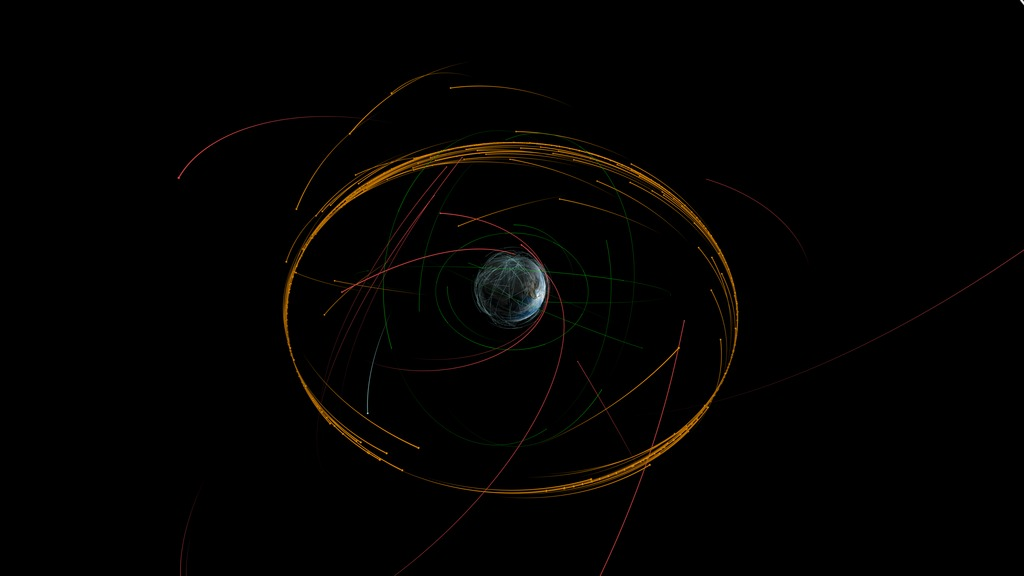 SVS: Kepler's Laws of Planetary Motion Described Using Earth Satellites