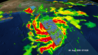 Link to Recent Story entitled: GPM passes directly over Tropical Storm John off the coast of Mexico