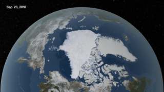 Link to Recent Story entitled: AMSR2 2018 Minimum Arctic Sea Ice Extent