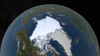 Link to Recent Story entitled: Annual Arctic Sea Ice Minimum 1979-2018 with Area Graph