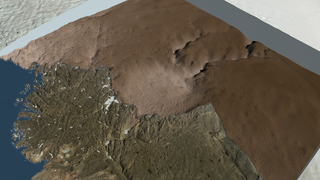 Link to Recent Story entitled: Greenland's Hiawatha Crater