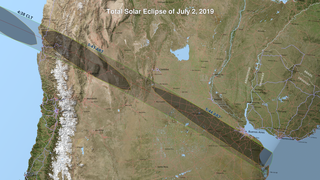 Link to Related Story entitled: 2019 Total Solar Eclipse Maps and Shapefiles