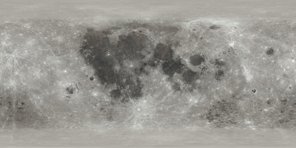 NASA Moon Texture maps