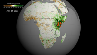 Link to Recent Story entitled: Vegetation index anomalies and Rift Valley fever (RVF) outbreaks in Africa and Middle East during 2000-2018