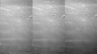 Link to Related Story entitled: Hyperwall: Scouting the Apollo 11 Landing Site