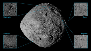 Link to Recent Story entitled: OSIRIS-REx - Asteroid Bennu Sample Site Finalists