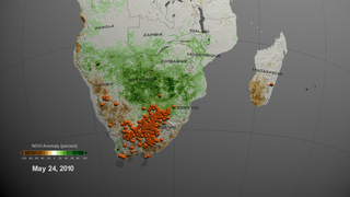Link to Recent Story entitled: Vegetation anomaly and Rift Valley fever (RVF) Outbreaks in South Africa during 2009-2011