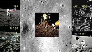 Link to Recent Story entitled: The Apollo 12 Landing Site