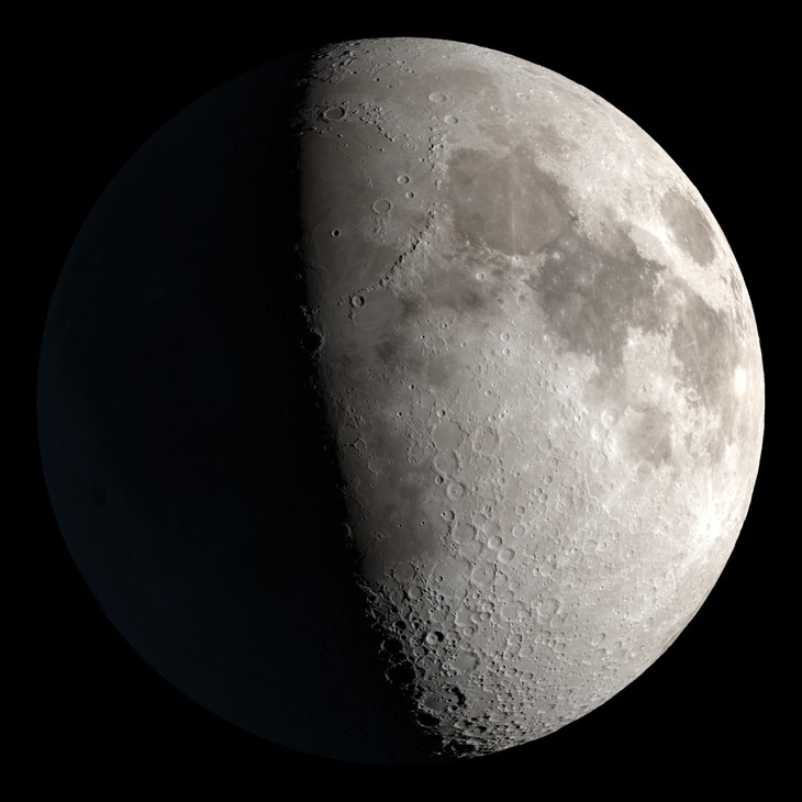 Current NASA Moon image