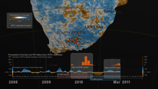 Link to Recent Story entitled: Precipitation Anomaly and Rift Valley fever (RVF) outbreaks in South Africa: 2008-2011