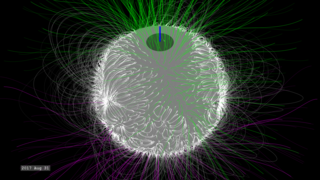 Link to Recent Story entitled: The Solar Polar Magnetic Field