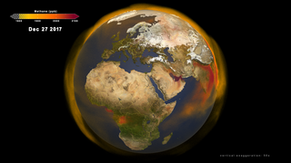 Link to Recent Story entitled: Global Atmospheric Methane