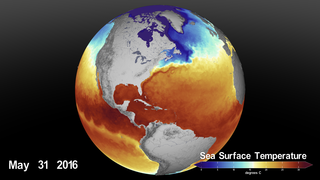 Link to Recent Story entitled: Earth Day 2020: Sea Surface Temperature (SST) from January 2016 through March 2020