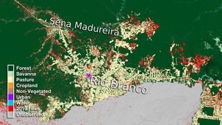 Link to Recent Story entitled: Rio Branco Land Use Data Over Time