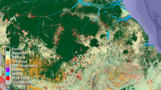 Link to Recent Story entitled: Northern Brazil Land Use Data Over Time