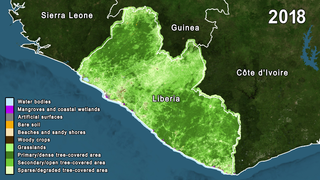 Link to Recent Story entitled: Liberia Land Use and Ecosystem Extent