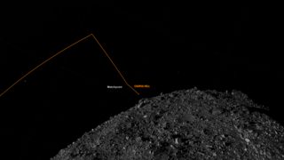 Link to Recent Story entitled: OSIRIS-REx - Bennu TAG