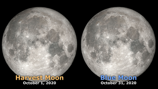 Link to Recent Story entitled: Halloween Blue Moon