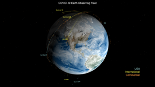 Link to Recent Story entitled: COVID-19 Earth Observing Fleet