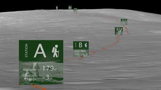 Link to Recent Story entitled: Apollo 14 Hike To Cone Crater