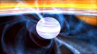 Link to Recent Story entitled: Millisecond Pulsar with Magnetic Field Structure