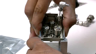 BROADCAST-QUALITY FOOTAGE: B-roll of SAM's microvalves being assembled at Goddard Space Flight Center. Microvalves work much like miniature faucets; by opening and closing them, gas moves through pipes within the SAM suite. These valves are designed to be so tight that not even helium can pass through them when closed. HD footage codec: DVCPROHD 100 SD footage codec: DVCPRO