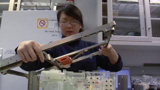 This video profiles Synthia Tonn, a junior engineer responsible for SAM's ground support equipment as well as its 'plumbing,' or the series of tiny, winding gas lines that connect SAM's various instruments.