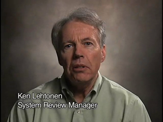 Ken Lehtonen Goddard employee for 41 years System Review Manager