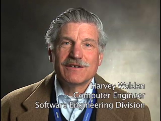 Harvey Walden Goddard employee for 46 years Computer Engineer Software Engineering Division