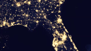 Link to Recent Story entitled: Instagram: Seeing Holiday Lights From Space