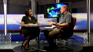 Earth Science Week 2010 Kickoff This daytime talk show style video introduces the energetic theme of Earth Science Week, how NASA and energy are connected, and looks in depth at some of the resources available to science educators inside the Earth Science Week Kit. Hosted by Trena Ferrell-Branch, the video features an interview with Dr. Eric Brown De Colstoun and Theresa Schwerin.