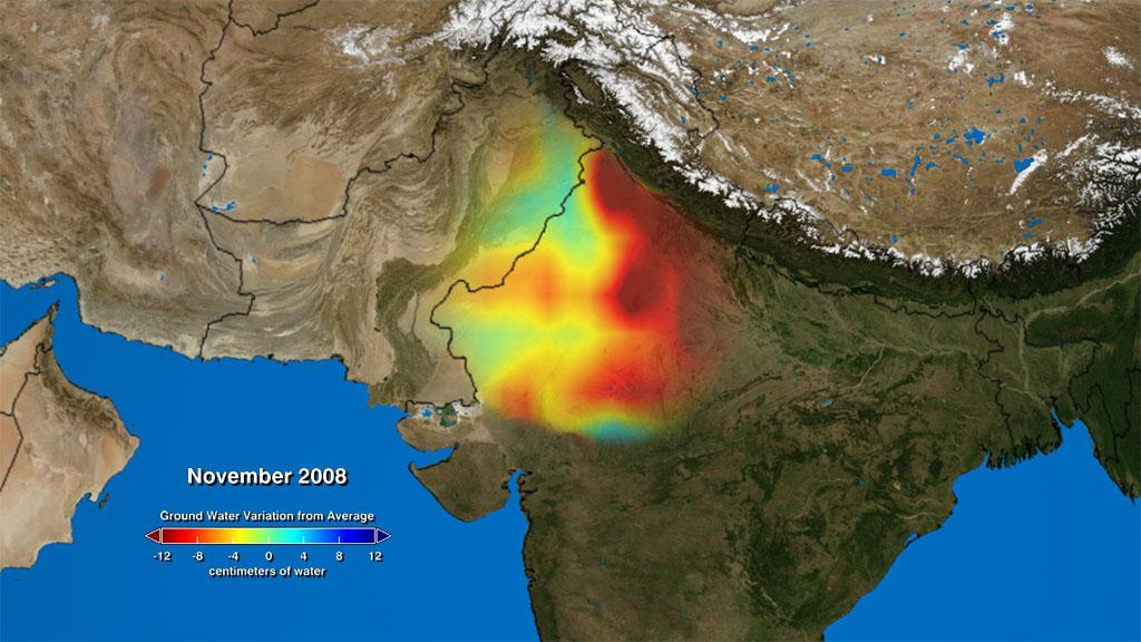 NASA Viz: India's Disappearing Water India Map Video on brazil map, africa map, korea map, japan map, arabian sea map, karnataka map, sri lanka map, andhra pradesh map, time zone map, europe map, france map, canada map, california map, china map, indian subcontinent map, maharashtra map, russia map, texas map, australia map,