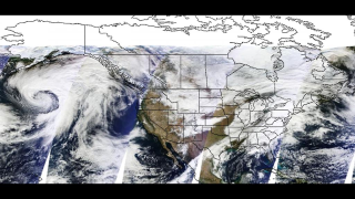 NASA scientists use satellite data to produce daily snow cover maps. One of their biggest hurdles: distinguishing between white clouds and snow.