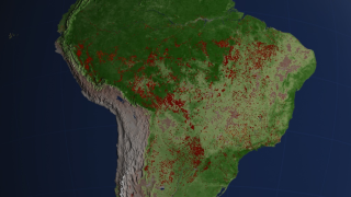 Link to Recent Story entitled: Forecasting South American Fires