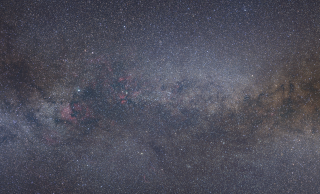 Wide-field optical view of the Cygnus region. Credit: Axel Mellinger, Central Michigan University