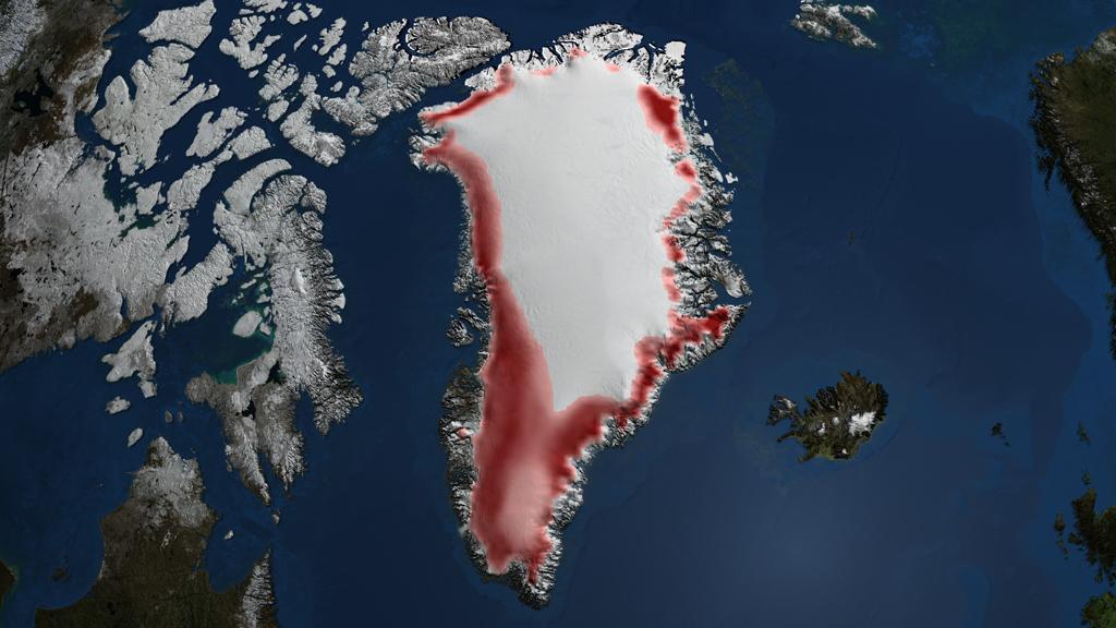 NASA Viz: Greenland's Vanishing Ice
