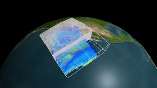One of the primary instruments on NASA's Aqua spacecraft is the Atmospheric Infrared Sounder (AIRS), which is providing a detailed three-dimensional view of the atmosphere. This new view is helping scientists to better understand the climate system and is proving of great value also in several practical applications, including weather forecasting.