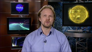 Interview with Antti Pulkkinen, NASA Solar Scientist.  How will this event affect the Earth?