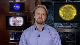 Interview with Antti Pulkkinen, NASA Solar Scientist.  What makes this event different from other recent CMEs and flares?